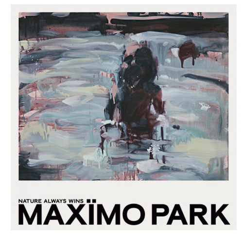 Maxïmo Park ‎– Nature Always Wins.   (Vinyl, LP, Album, Limited Edition,Turquoise Translucent)