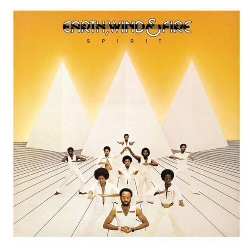 Earth, Wind & Fire – Spirit.   (Vinyl, LP, Album, Limited Edition, Numbered, Flaming)