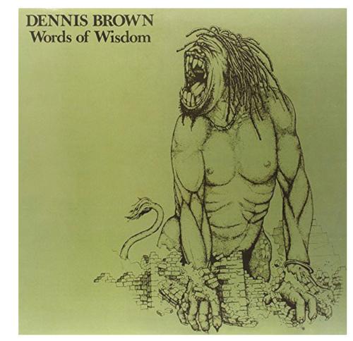 Dennis Brown – Words Of Wisdom.   ( Vinyl, LP, Album)