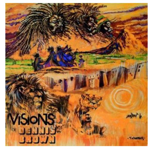 Dennis Brown – Visions Of Dennis Brown.   ( Vinyl, LP, Album)