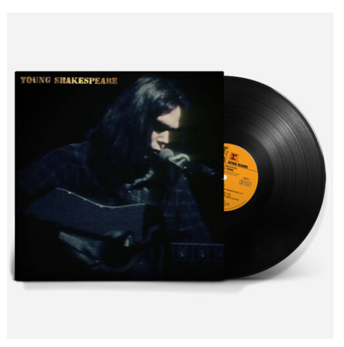Neil Young ‎– Young Shakespeare.   (Vinyl, LP, Album, Stereo, Gatefold)