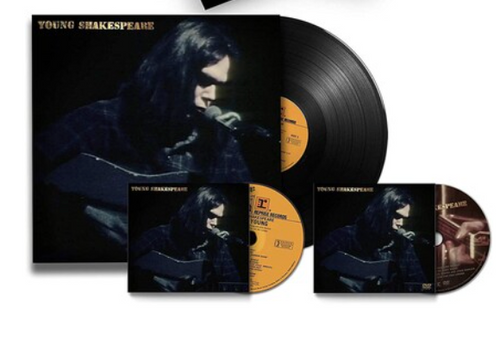 Neil Young ‎– Young Shakespeare.   ( Vinyl, LP, Album,  CD, Album,  DVD-Video, Box Set, Deluxe Edition, Numbered)