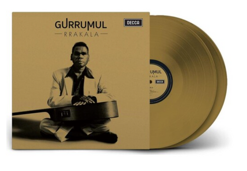 Gurrumul – Rrakala.   (2x Vinyl, LP, Album, Gold)
