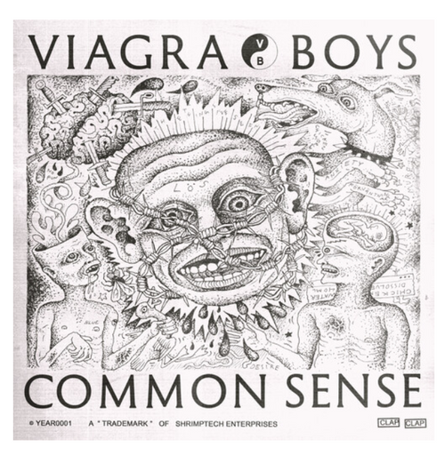 "Viagra Boys ‎– Common Sense.   (Vinyl, 12"", 45 RPM, EP, Limited Edition, Blue)"