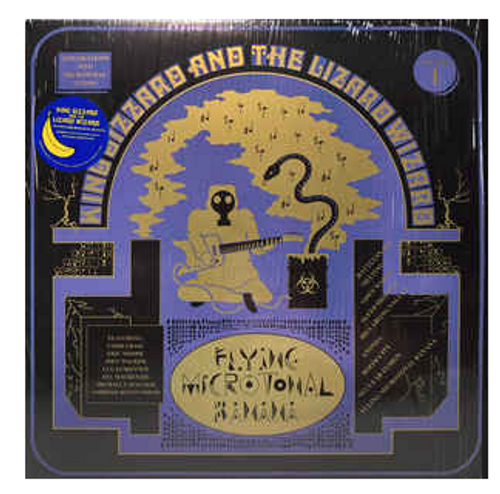 King Gizzard And The Lizard Wizard ‎– Flying Microtonal Banana (Explorations Into Microtonal Tuning Volume 1).   ( Vinyl, LP, Album, Limited Edition, Radioactive Yellow)