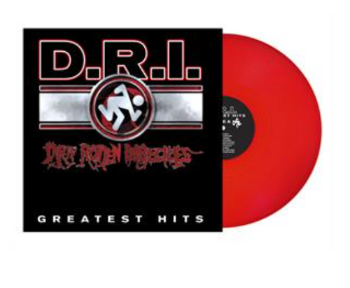D.R.I. - Greatest Hits.   (Vinyl, LP, Compilation, Red)