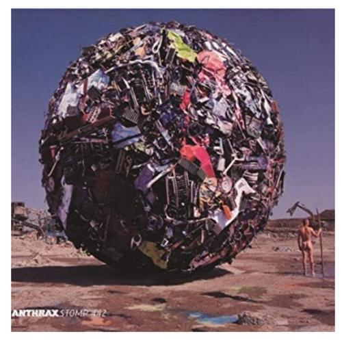 Anthrax – Stomp 442.   (2 × Vinyl, LP, Album, Limited Edition, Blue Opaque, Gatefold)