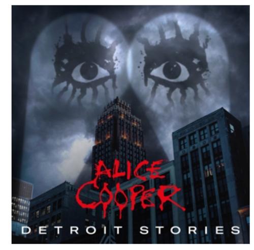 Alice Cooper  – Detroit Stories.   (2 × Vinyl, Album)