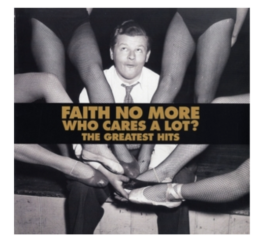 Faith No More – Who Cares A Lot? The Greatest Hits.   (2 × Vinyl, LP, Album, Compilation, Limited Edition, Gold)
