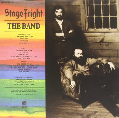 The Band - Stage Fright (Vinyl, LP, Album, Reissue, Remastered, Stereo, 180g, Black Vinyl)