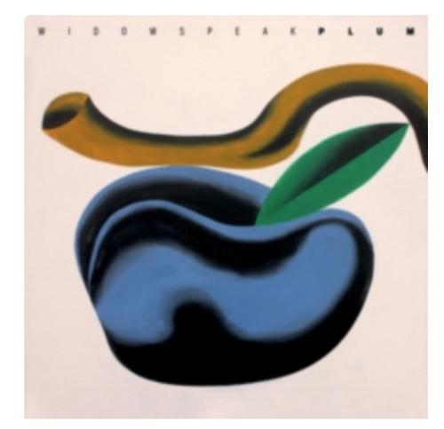 Widowspeak – Plum.   (Vinyl, LP, Album, Limited Edition, White)