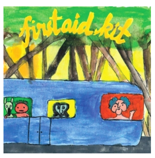 """First Aid Kit – Drunken Trees.   ( Vinyl, 12"""", EP, White, CD)"""