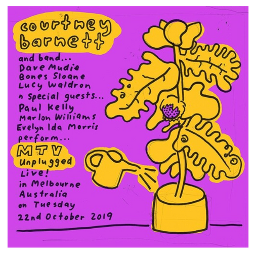 Courtney Barnett – MTV Unplugged Live In Melbourne    (Vinyl, LP, Album, Aqua Blue)