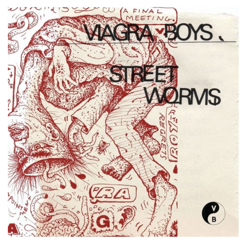 Viagra Boys ‎– Street Worms.   (Vinyl, LP, Album, Reissue, Clear)