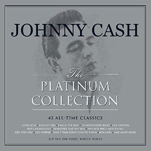 Johnny Cash - The Platinum Collection ( 3 × Vinyl, LP, Compilation, Red)