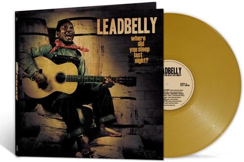 Leadbelly -  Where Did You Sleep Last Night? (Vinyl, LP, Album, Limited Edition, Gold)