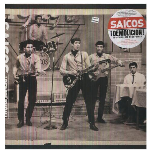 Los Saicos – ¡Demolición! The Complete Recordings.   (Vinyl, LP, Compilation)
