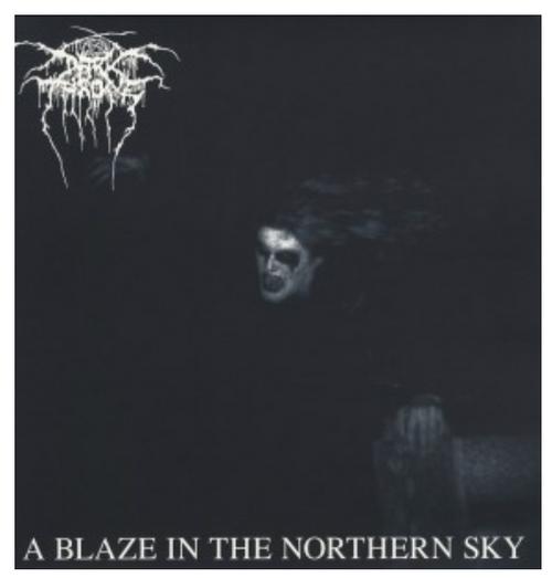 Darkthrone – A Blaze In The Northern Sky.   ( Vinyl, LP, Album)