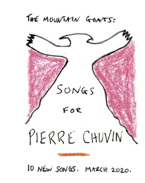 The Mountain Goats – Songs For Pierre Chuvin.   (Vinyl, LP, Album, Limited Edition, Pink Swirl)