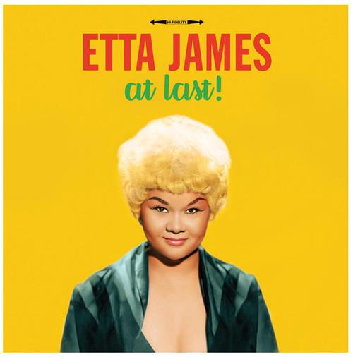 Etta James - At Last (Vinyl, LP, Album, Yellow)