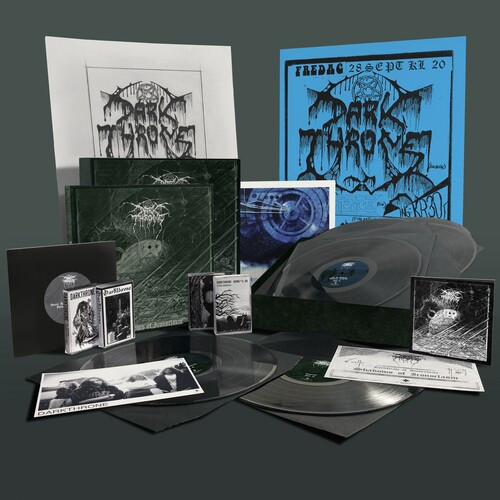 "Darkthrone - Shadows of Iconoclasm (6 x Vinyl, LP, Album, Remastered, 4 x Cassette, 7"" Vinyl, DVD, Book, Prints, Posters, Boxset, Limited Edition)"
