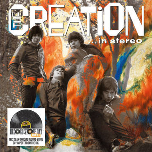 RSD2021 The Creation - In Stereo (2 x Vinyl, LP, Album, Limited Edition, Clear, 180g)