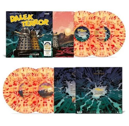 RSD2021 Doctor Who - Dalek Terror (2 x Vinyl, LP, Album, Limited Edition, Extermination Splatter)