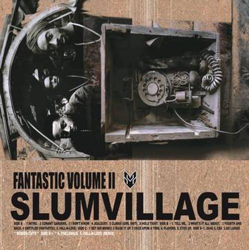 RSD2021 Slum Village - Fantastic Volume 2: 20th Anniversary Edition (2 x Vinyl, LP, Album, Limited Edition, Golden Pearl Splatter)