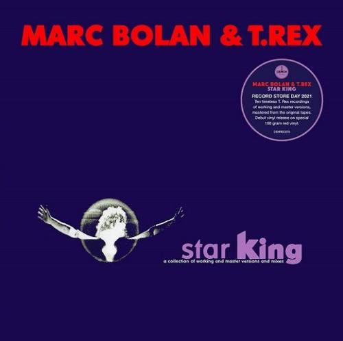 RSD2021 Marc Bolan & T. Rex - Star King (Vinyl, LP, Album, Limited Edition, Red, 180g)