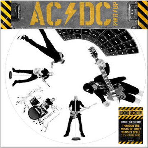 """RSD2021 AC/DC - Through The Mists of Time / Witch's Spell (Vinyl, Single, 12"""", Limited Edition, Picture Disc)"""