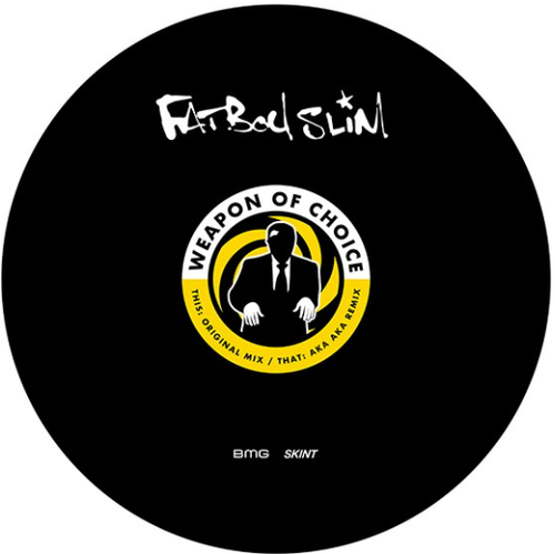 """RSD2021 Fatboy Slim - Weapon of Choice (Vinyl, 12"""" Single, Limited Edition, Picture Disc)"""