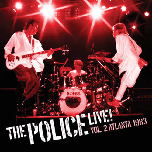 RSD2021 The Police - Live Vol. 2: Atlanta 1983 (2 x Vinyl, LP, Album, Limited Edition, Red)