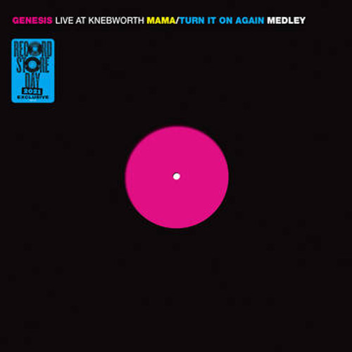 RSD2021 Genesis - Live at Knebworth (Vinyl, EP, Limited Edition, Numbered)