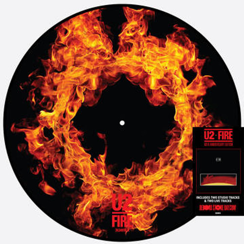 """RSD2021 U2 - Fire (Vinyl, 12"""" Single, Limited Edition, Picture Disc)"""