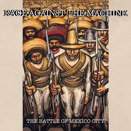 RSD2021 Rage Against The Machine - The Battle of Mexico City (2 x Vinyl, LP, Album, Limited Edition, Red/Green)