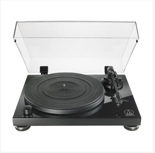 Audio-Technica AT-LPW50PB Piano Black Premium Manual Belt Drive Turntable