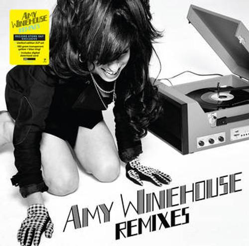 Amy Winehouse - Remixes (2 x Vinyl, LP, Album, Limited Edition, Transparent Blue & Yellow, 180g)