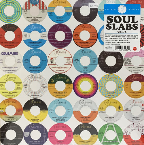 RSD2021 Various Artists - Soul Slabs Vol. 3 (2 x Vinyl, LP, Compilation, Limited Edition, Red)