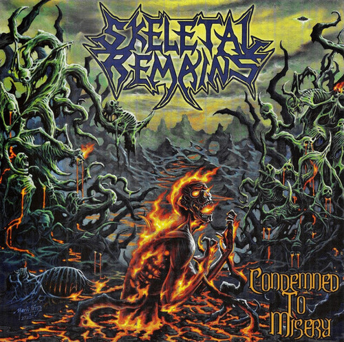 Skeletal Remains - Condemned to Misery (Vinyl, LP, Album, Remastered, 180g)