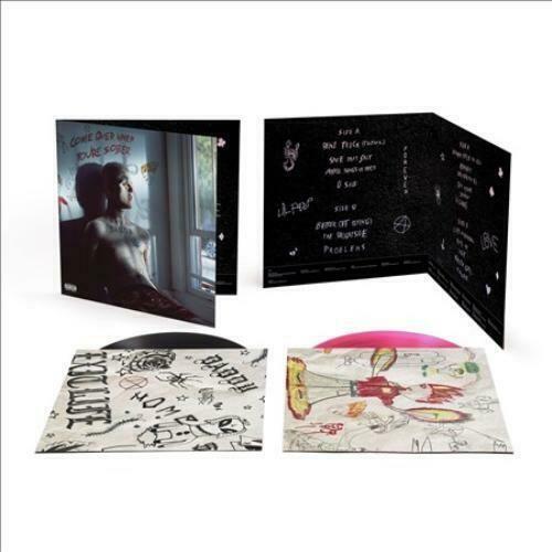 Lil Peep - Come Over When You're Sober Part 1 & 2 (2 x Vinyl, LP, Album, Deluxe Edition, Pink/Black)