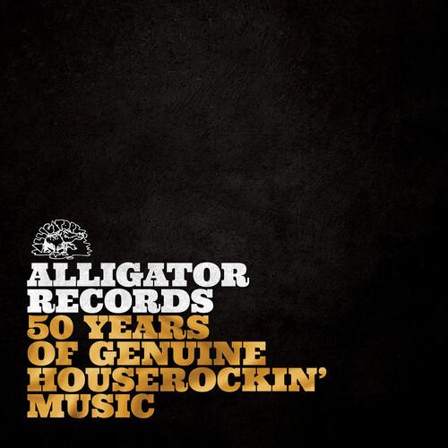 Various Artists - Alligator Records: 50 Years of Genuine Houserockin' Music (2 x Vinyl, LP, Compilation)