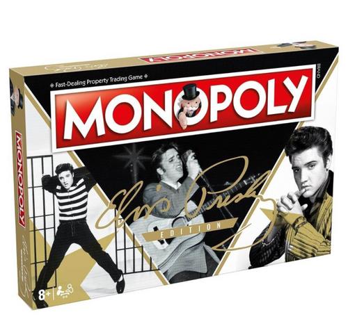 Elvis Presley Monopoly Board Game