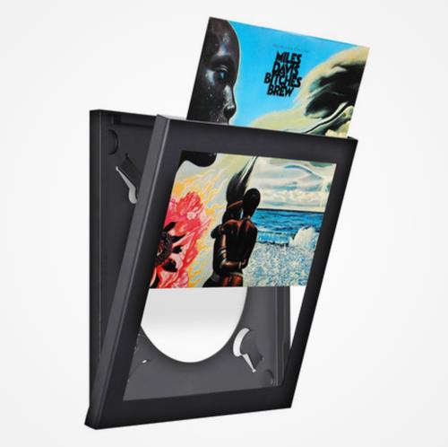 """Show and Listen 12"""" Vinyl Lp Flip Frame - Black - New"""