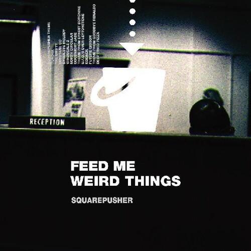"Squarepusher - Feed Me Weird Things (2 x Vinyl, LP, Album, Remastered, Limited Edition, Bonus 10"", Transparent)"