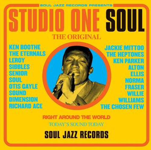 RSD2021 Various Artists - Studio One Soul (2 x Vinyl, LP, Compilation, Limited Edition, Yellow)