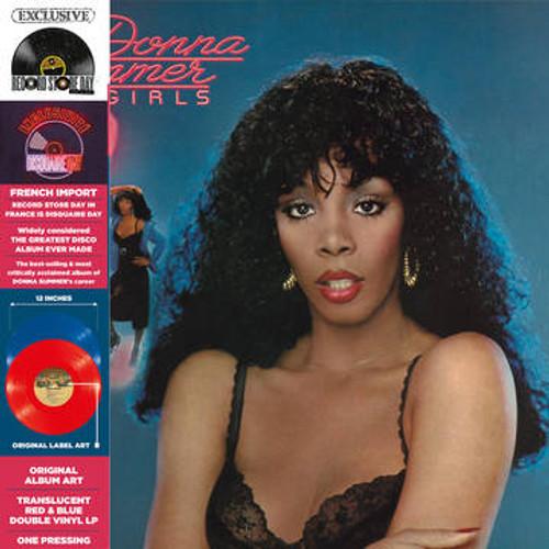 RSD2021 Donna Summer - Bad Girls (2 x Vinyl, LP, Album, Limited Edition, Translucent Red & Blue)