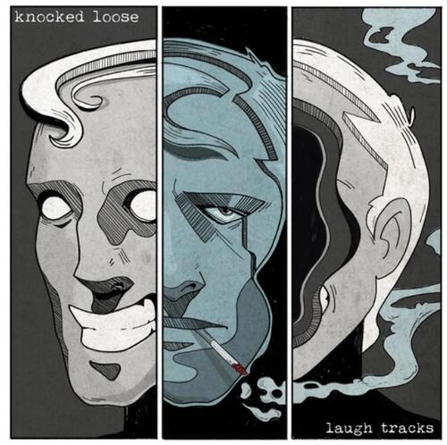 Knocked Loose – Laugh Tracks.   ( Vinyl, LP, Album, Limited Edition, Royal Blue Cloudy)