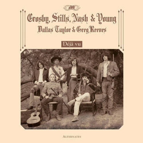 RSD2021 Crosby, Stills, Nash & Young - Deja Vu Alternates (Vinyl, LP, Album, Limited Edition)