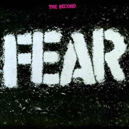 "RSD2021 Fear - The Record (Vinyl, LP, Album, Limited Edition, Clear/White, Bonus 7"" Single)"
