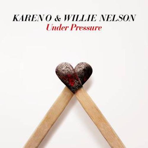 "RSD2021 Karen O & Willie Nelson - Under Pressure (Vinyl, 7"" Single, Limited Edition)"